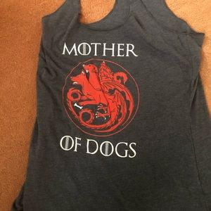 Next level triblend tank top Mother of Dogs